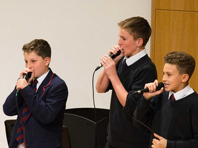 UK BEATBOX CHAMPION LEADS TOE-TAPPING WORKSHOP