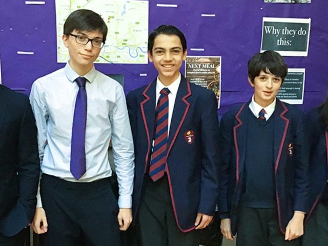 HIGHGATE'S SECOND WIN AT HANS WOYDA MATHS COMPETITION