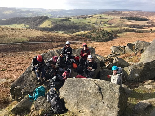 Peak District Rock Climbing Weekend