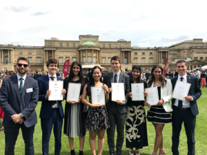 Highgate School Duke of Edinburgh Gold Award at Buckingham Palace