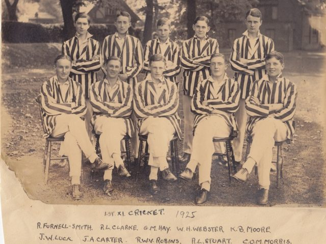 Highgate School Cricket Team in 1925