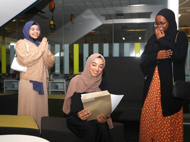 London Academy of Excellence Tottenham - A level results day 2020