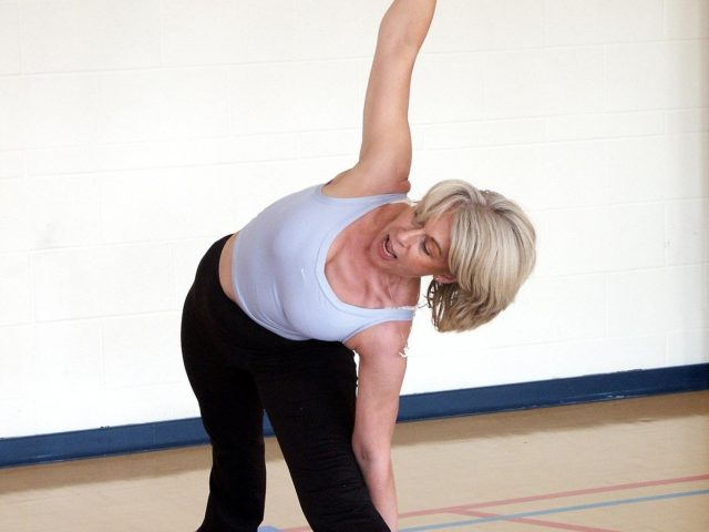 Yoga Class at Highgate School Mallinson Sport Centre