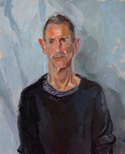 Portrait of High by artist Kim Scouller