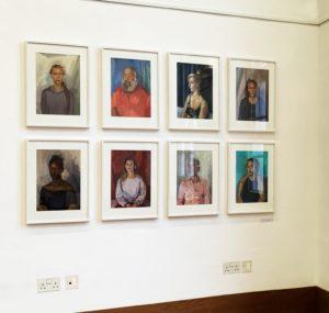 Kim Scouller Exhibition - Mills Centre - Highgate School