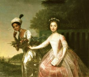 Dido Belle with cousin Lady Elizabeth Murray