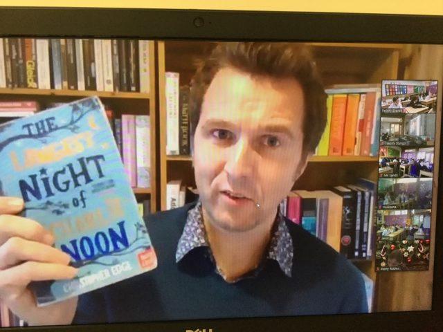Junior School Author Talk with Christopher Edge