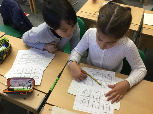 Maths Week in the Junior School