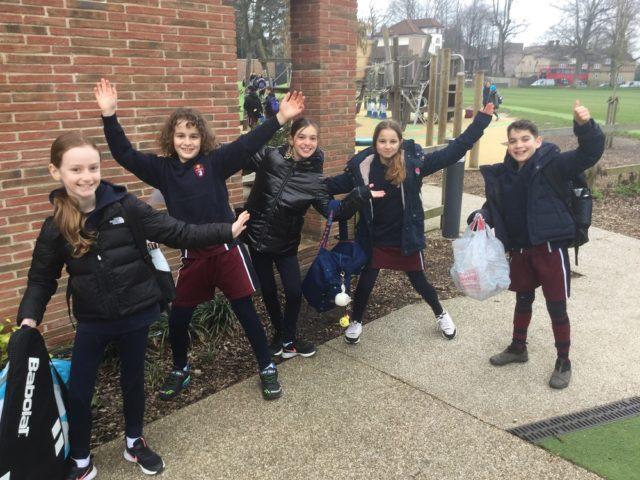 Junior School Pupils Return