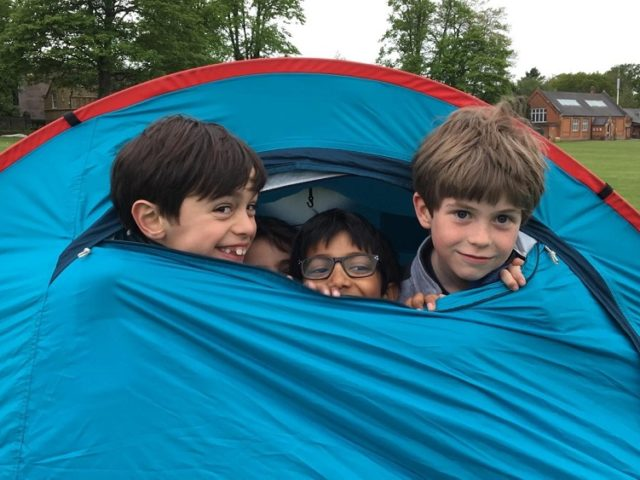 Junior School Camp Out!