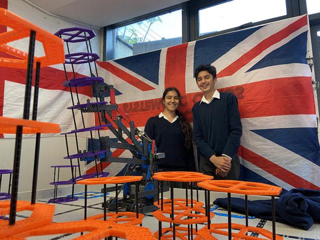 Highgate pupils in Vex Robotics World Championship